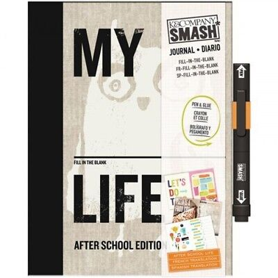 K&Company SMASH Fill-In-The-Blank my life folio