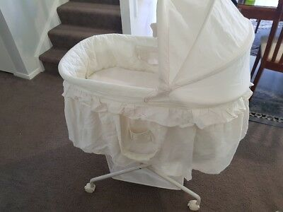 Baby bassinet and mattress - love n care