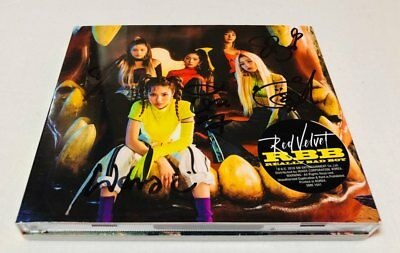 RED VELVET -  Autograph(Signed) ALL MEMBER  PROMO ALBUM KPOP