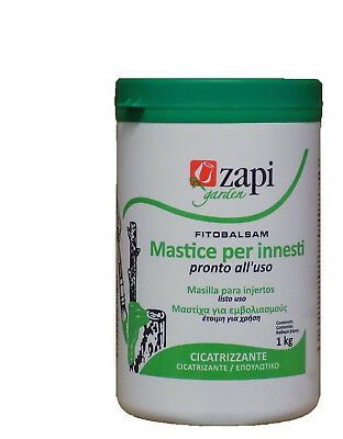 PHYTO CONDITIONERS pasta putty healing graft and wounds of pruning ZAPI 1Kg
