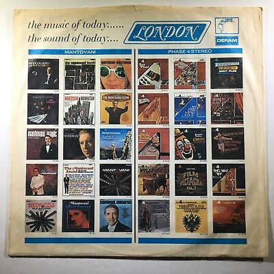 London Records LP Album Inner Sleeve - Vintage ca. 1969 - G Cond.