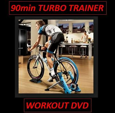 90min INDOOR TURBO TRAINER CYCLING WORKOUT DVD