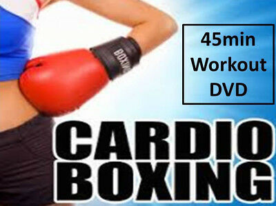 Boxfit Cardio Boxing Workout Dvd - Burn 500 Calories -  Fitness Boxercise