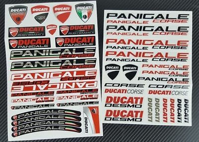 Ducati panigale motorcycle  R 899 949 1199 1299 decal sticker set kit adesivi