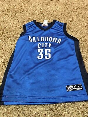 low priced f49e2 b6460 OKC THUNDER KEVIN Durant youth large jersey 12-14