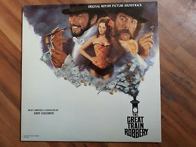 """Lp Soundtrack   """"the Great Train Robbery""""   Musik Von Jerry Goldsmith"""
