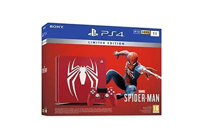 Sony Ps4 Console 1Tb Limited Edition Amazing Red + Marvel's Spider-Man 9724810