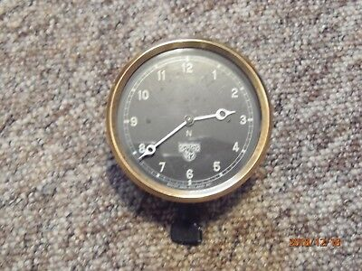 1930s vintage Smiths car clock in good working order.