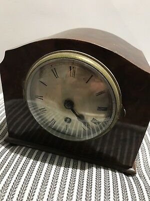 Vintage Bravingtons Mantel Clock. No Reserve Not Tested House Clearence London