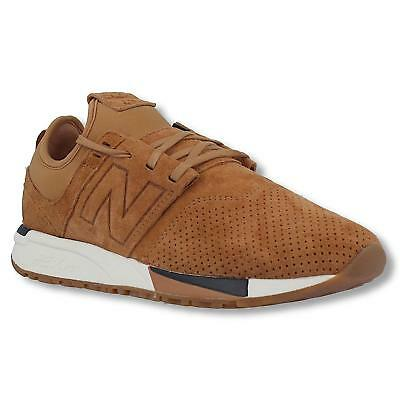New Balance Mens 247 Luxe 2.0 Suede Trainers Pumps Sneakers Beige