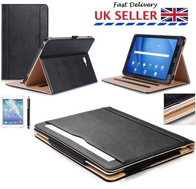 """Leather Magnetic Stand Folio Case Cover For Samsung Galaxy Tab A 10.1"""" T580/T585"""