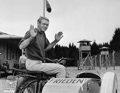 Steve McQueen (King of Cool) - 8x10 Photo - Magnificent Seven -Great Escape - 22