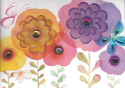 PAPER FLOWERS CARD P26 PAPYRUS MOTHERS DAY CARD NIP MSRP $6.95