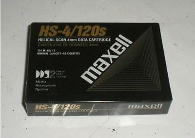 Maxell New Sealed Qty 2 4mm HS-4/120s 124m 4GB Data Cartridge