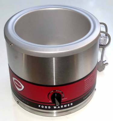 Wells Food Soup Warmer 7 Quart Round Commercial Container LLW-7 21614 Unused
