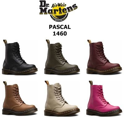 68829b6b2803 Dr Martens Ladies Pascal Virginia Soft Nappa Leather 8 Eye 1460 Ankle Boots