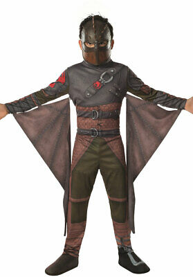 Boys Hiccup Costume How To Train Your Dragon 2 Halloween Kids Fancy Dress Outfit