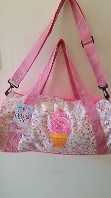 Girls Cute Hot Pink Dufle Bag. New With Tag.