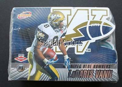 2003 -Pacific CFL Set (Atomic) -Base set of 100 cards- Inc.: Dickenson & Stegall