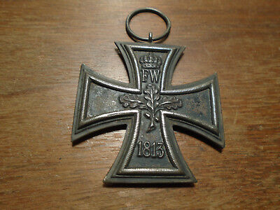 1813/1914 WW1 Imperial German Iron Cross Original Bezel