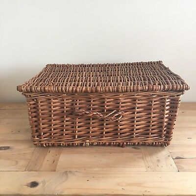 Wicker Picnic Basket 50 x 34 x 21 cm