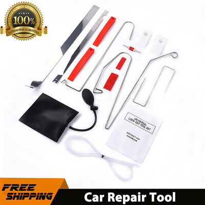 12pcs Car Door Open Tool Key Lock Out Unlock Tool Air Pump Educational Material