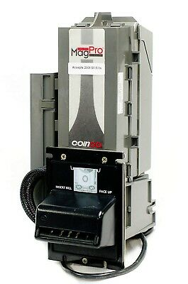 Coinco Mag Pro MAG50B Bill Acceptor. New Currency! Tested with $1 & $5 Bills