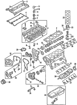 Genuine GM Engine Camshaft 55568389