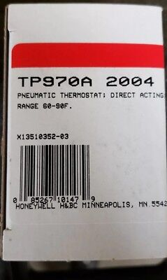 Brand new Honeywell TP970A 2004 4 Pneumatic Thermostat