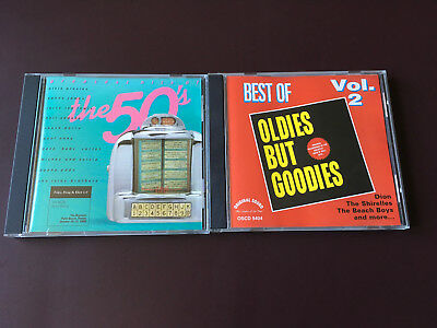 GREATEST HITS - OF THE 50s & OLDIES BUT GOODIES VOL 2 - 2 CD