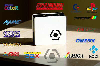 Retro Gaming Console - multi system emulator (retropie, arcade, old games)