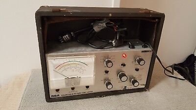 RCA Color/B&W Picture Tube Tester WT-509 AV1