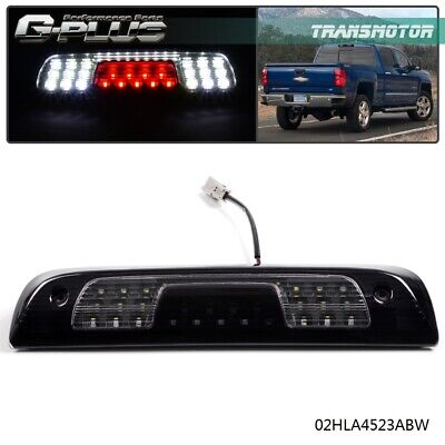 For 2014-2018 Chevy Silverado & GMC Sierra 1500 2500 LED 3rd Brake Light Smoke