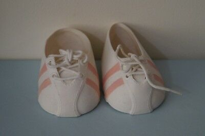 CPK pink stripe sports doll shoes (fits My Child & Cabbage Patch Kids dolls)