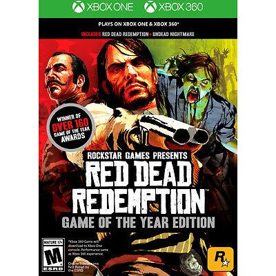 Red Dead Redemption Game of the Year! Undead Nightmare! 360 & Xbox One! New!