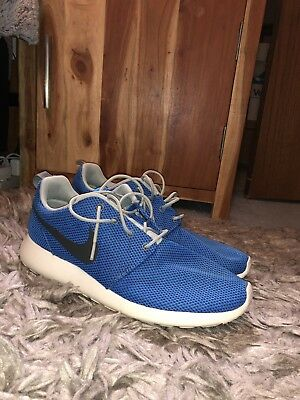 19c833a931b4 NIKE ROSHE RUN Athletic Running Mens Shoes Size 10.5 Eur 44.5 Dark ...