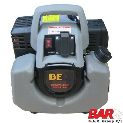 BE Ultra Light Inverter Generator - 0.9kVa (Max 900W/240V AC) Clean Power