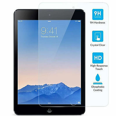 2x Premium Tempered Glass Screen Protector for Apple iPad 5 & 6 Gen 2018 9.7inch