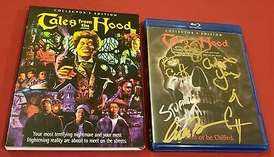 Tales From the Hood Blu-Ray Cast SIGNED x11 Rusty Cundieff Clarence Williams NEW