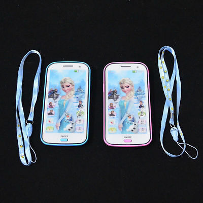 Mobile phone Disney Frozen Smartphone Learning device Music Song for Kids Toy