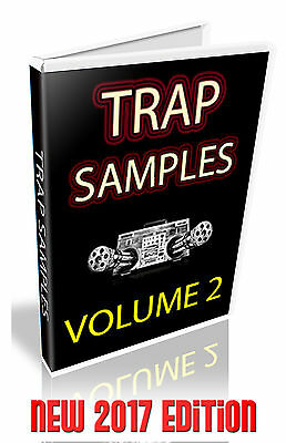 Trap Sample Collection Volume 2 - New  -  Apple Logic Pro X  Exs24 -  2 Dvd's