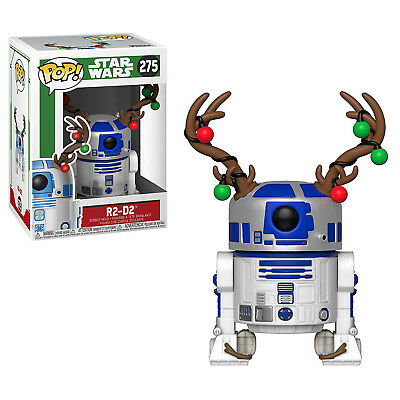 Funko Star Wars POP R2-D2 With Antlers Vinyl Figure NEW IN STOCK Toys