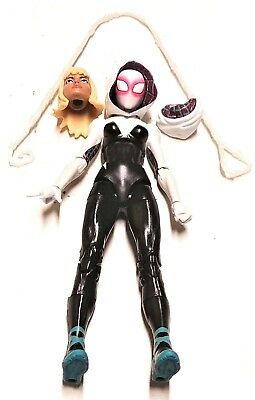 Marvel Legends SPIDER-GWEN Loose Complete Into The Spider-verse Miles Morales