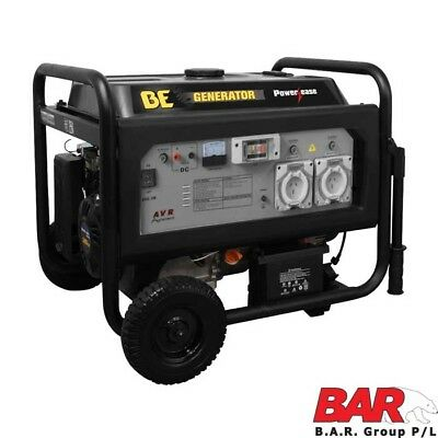 BE Deluxe Series Generator - 8.0kVa (Max 6400W - ELECTRIC START
