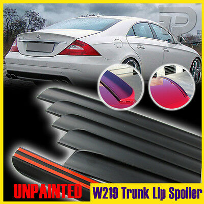 BRS Type Rear Roof Spoiler Wing Unpainted For MERCEDES-BENZ CLS W219 07~10 Sedan