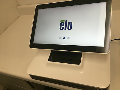 ELO Touch Solutions ESY17B2-7UWB-1-NB POS Touch Screen Terminal / Stand Tested