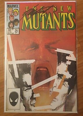 The New Mutants #26 (Signed by Chris Claremont) (1st Appearance of Legion) FX
