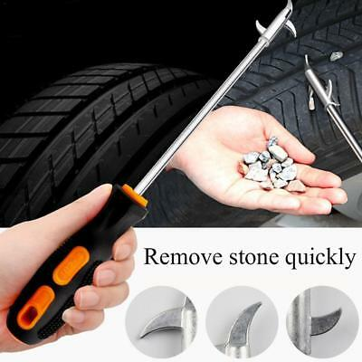 Car Tire Groove Tool Cleaning Hook Wheel Tread Slot Stone Gravel Remover Tire Stone Hook Tire Cleaning Hook