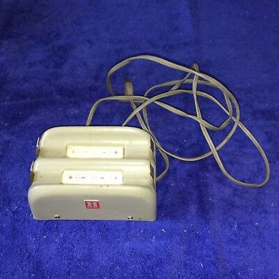 Vintage HONEYWELL Battery Charger~Mid Century Technology Electronics