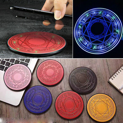 Magic Array Wireless Charger 10W Magic Circle Fast Charger Charging Pad Mat Gift